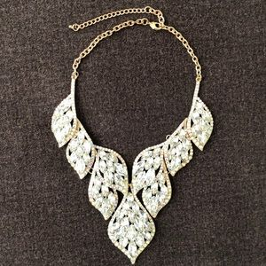 Adjustable statement necklace from Dillard's